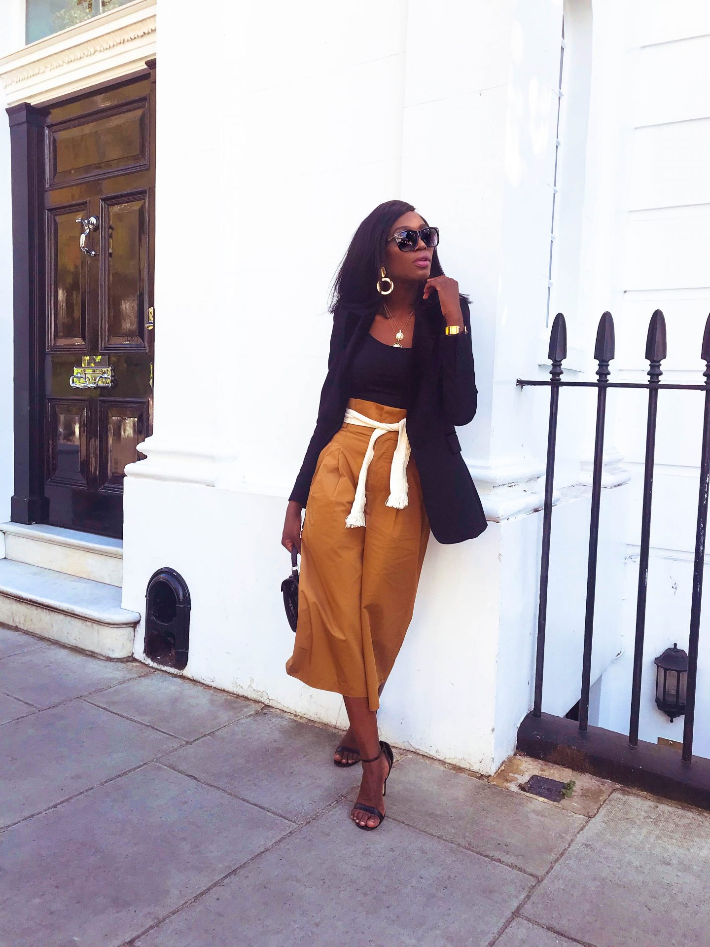 HOW TO WEAR CULOTTES IN  AUTUMN